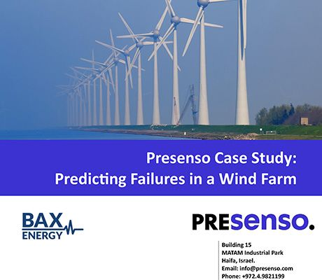 Predicting failures in a wind farm